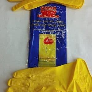 מטליות לשמירת עור הידיים בניקיון